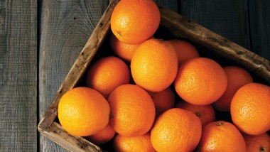 Oranges! Not the only fruit, but…