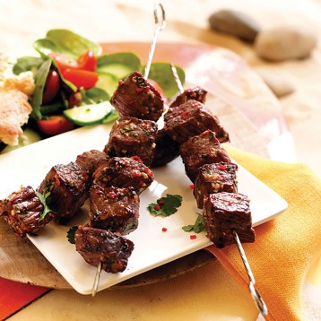 Hot Beef Satays