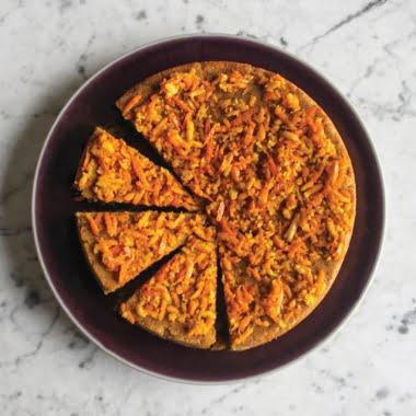 Orange and baobab polenta cake