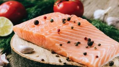 Escalope of wild sea trout with tomato vinaigrette