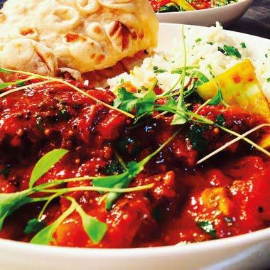 Goan monkfish & prawn curry