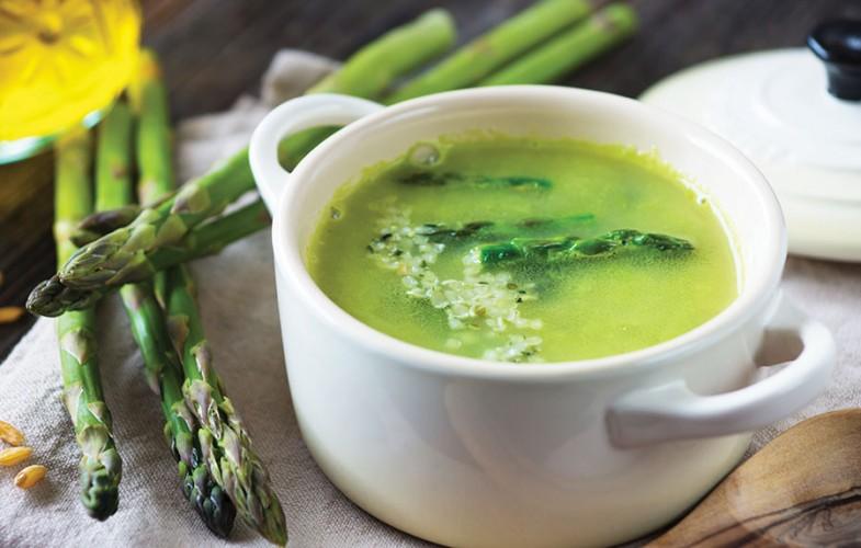No-sin asparagus soup