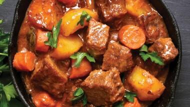 Spring lamb stew