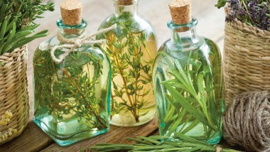 Herb-infused oils