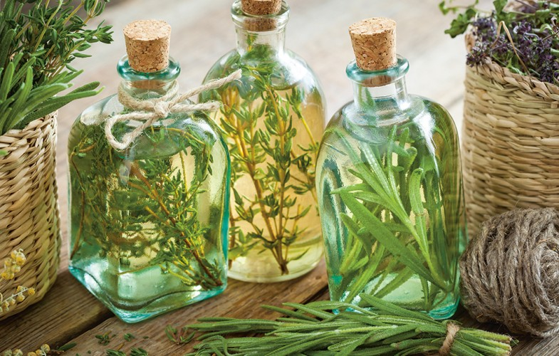 Herb-infused oils