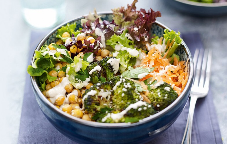 Super-food Buddha bowl