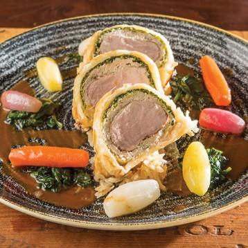 Pork Mignon en croute