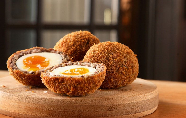 The Broad Chare's Scotch egg