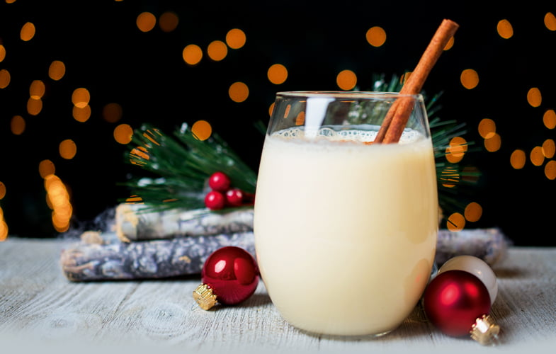 Who's drinking… Egg nog?