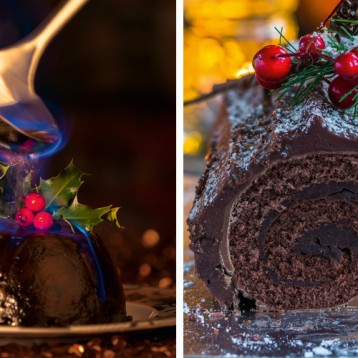 Food Fight: Christmas pudding vs Bouche de Noel