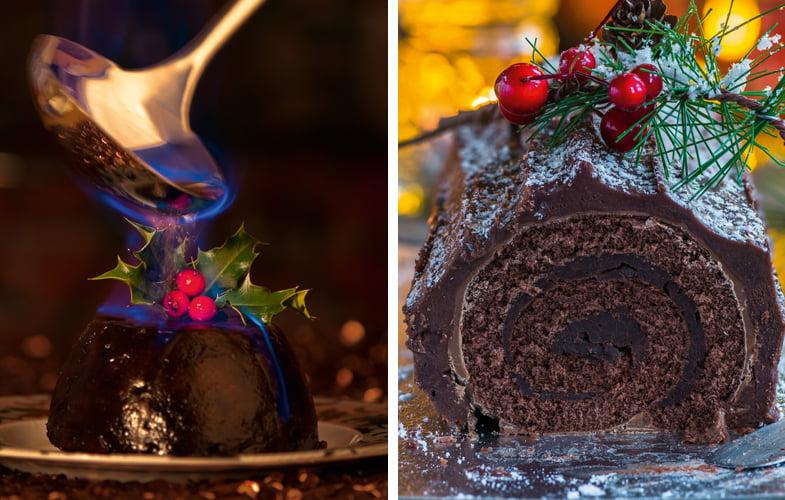 Food Fight: Christmas pudding vs Bouche de Noel