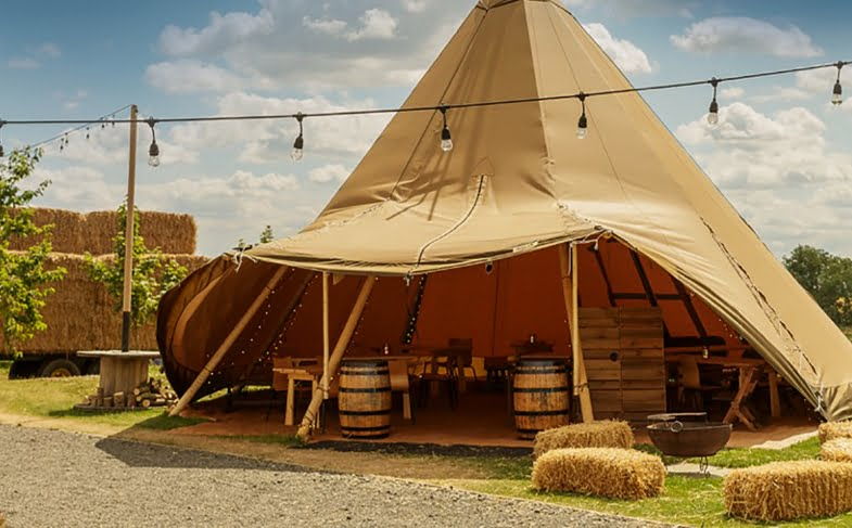 Carry on glamping