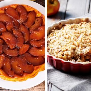Food Fight: Tarte tatin vs Apple crumble