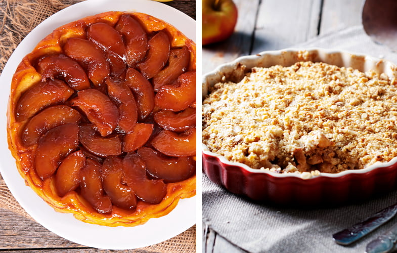 Food Fight: Tarte tatin vs Apple crumble