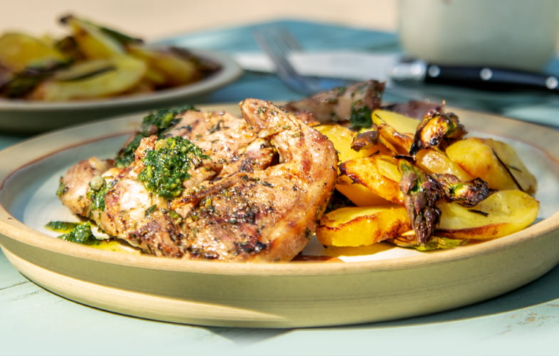 Scottadita – Roman-style grilled lamb chops
