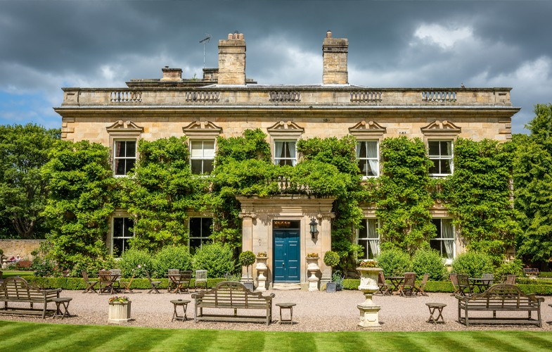 Win dinner for two at four-star country house hotel Eshott Hall, near Morpeth