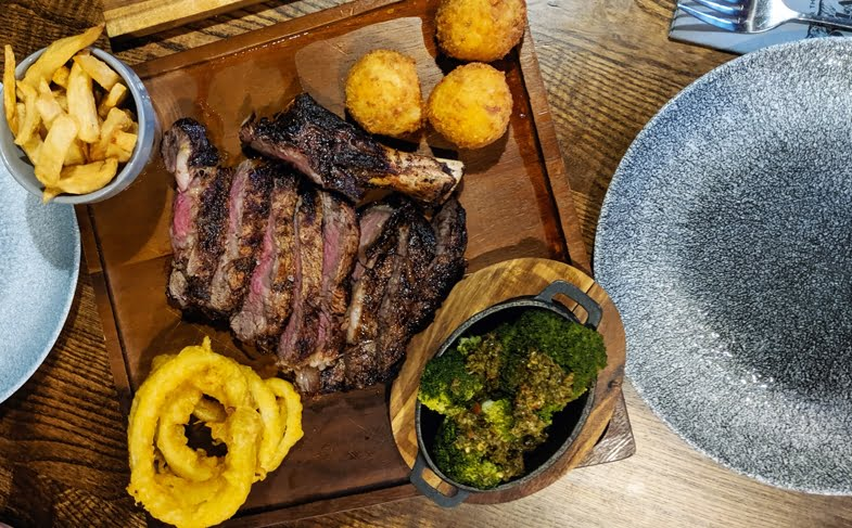 Dinner review: Tomahawk Steakhouse, Ponteland
