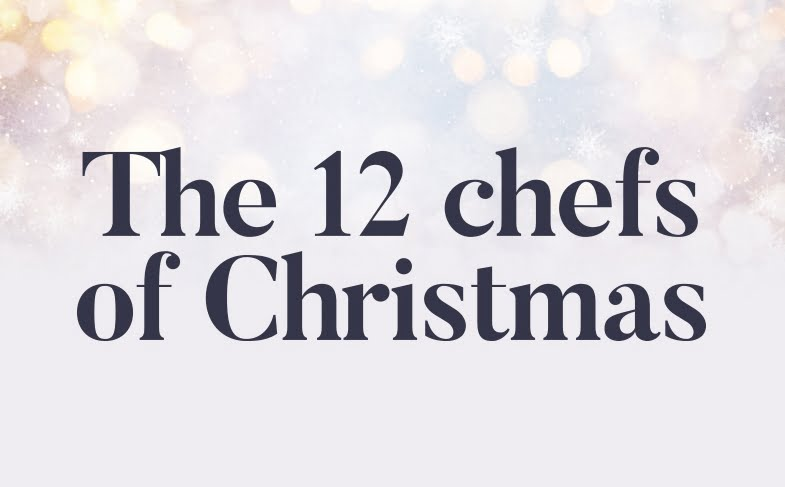 The 12 chefs of Christmas