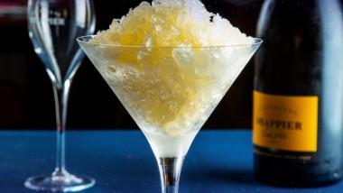 Palate cleanse: Champagne Granita