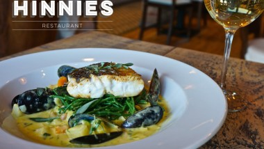 Two course lunch for £10 at Hinnies