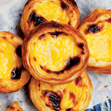 Pastel de nata (Portuguese egg tart)