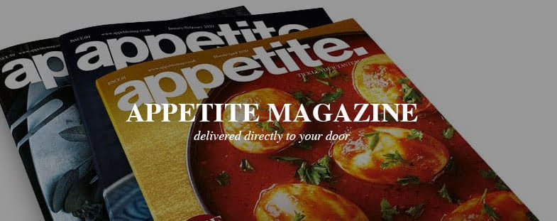 Appetite magazine delivered