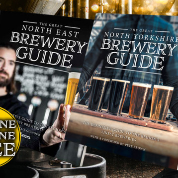 Buy the Great North East Brewery Guide and receive a copy of the Great North Yorkshire Brewery Guide free