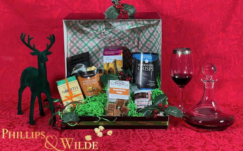 Win a luxury hamper from Phillips & Wilde