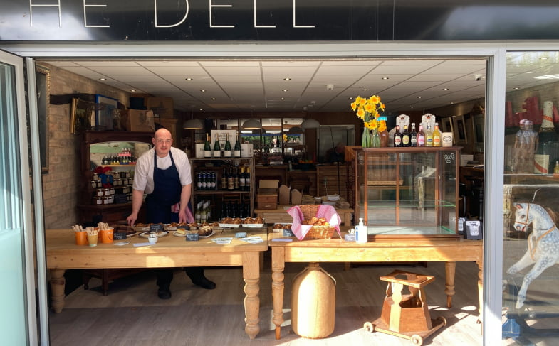 Top chef Andrew Wilkinson launches new bakery, café and bistro