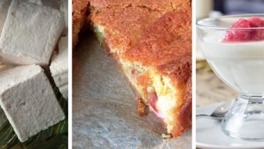 A hat-stick ofrhubarb recipes