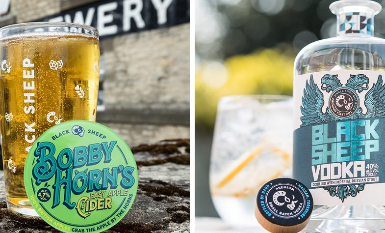 Black Sheep brewery expands portfolio with vodka and cider launches