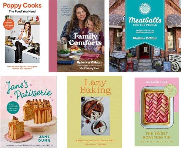 Books for cooks Sept 2021