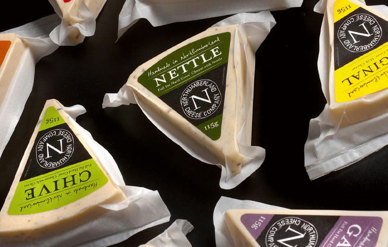 The big cheese at The Northumberland Cheese Company