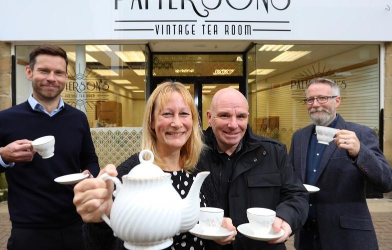 Tea room brings vintage glamour to Co Durham